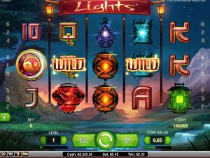 the aspect of the slot games